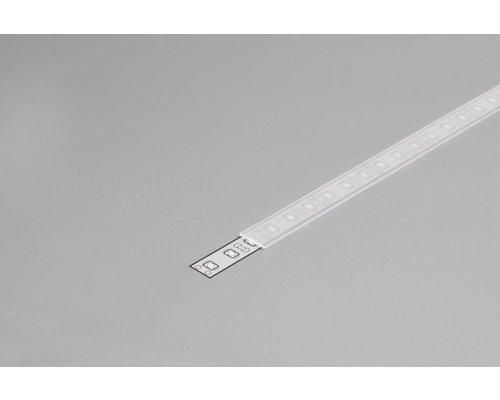 TOPMET SLIM Frosted Cover 1m voor 10mm TOPMET profielen