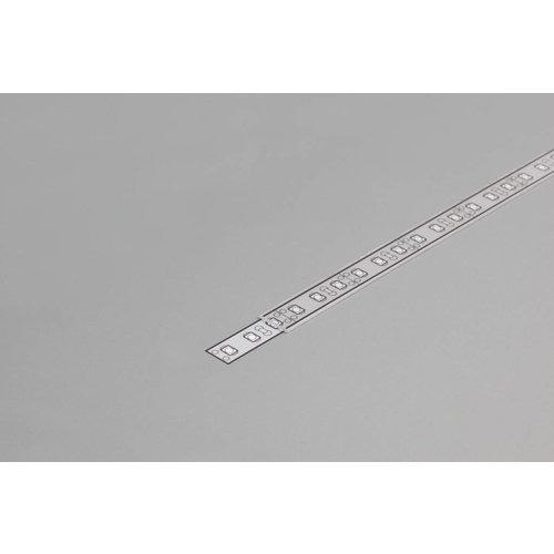 TOPMET SLIM Transparante Cover 1m voor 8mm TOPMET profielen