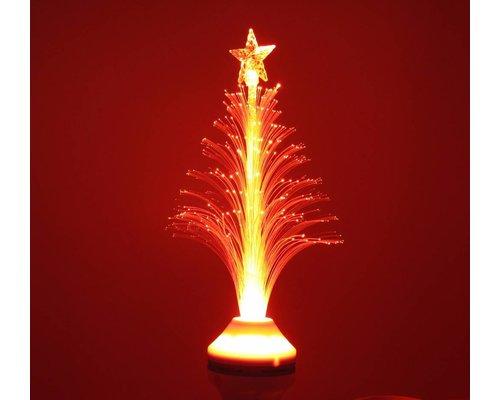 Sfeervolle LED kerstboom met E27 fitting – Rood