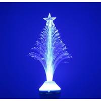 Sfeervolle LED kerstboom met E27 fitting – Blauw