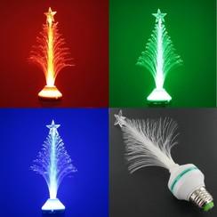 Sfeervolle LED kerstboom met E27 fitting – RGB