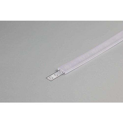 TOPMET Transparante Click-Cover 1m voor 10mm TOPMET profielen