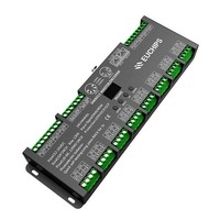 Euchips DMX RGB Master/Decoder 24 kanalen Max 120A 12-24V