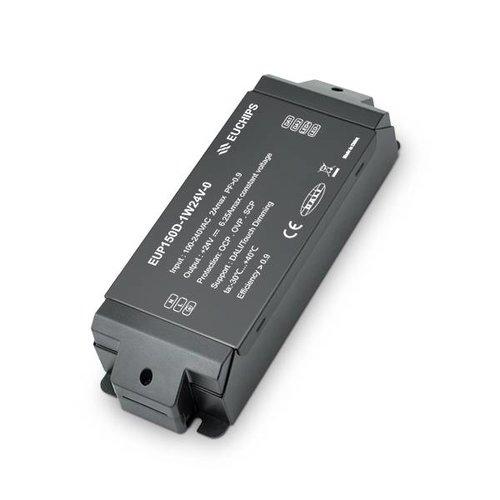 Euchips Dali driver 150W 24V DC 6.25A Constant Voltage