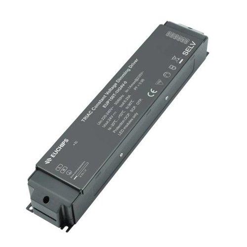 Euchips TRIAC/ELV dimbare led driver 24V 150W 6.25A