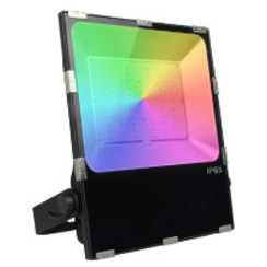 100 Watt RGB+CCT LED Floodlight Warm Wit + Koud Wit