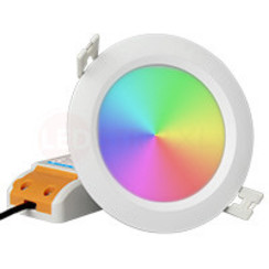 6 Watt RGB + Warm Wit + Koud Wit CCT Downlight Waterdicht IP54