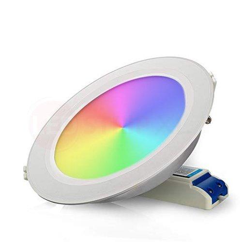 Milight 12 Watt RGB + Warm Wit + Koud Wit CCT Downlight Dual White