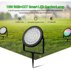 15 Watt 230 Volt RGB + Warm Wit + Koud Wit Tuinlamp