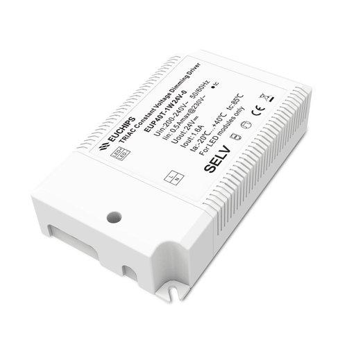 Euchips TRIAC dimbare led driver 24V 40W 1.6A