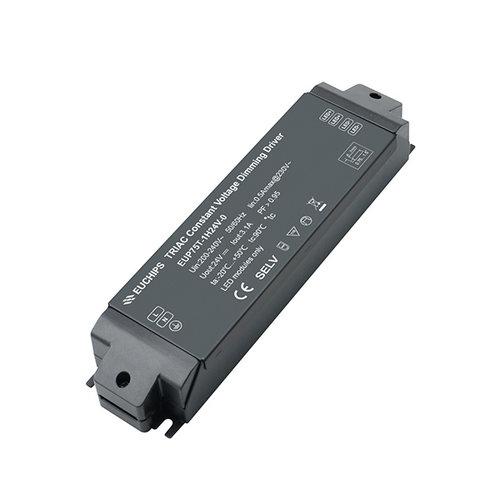 Euchips TRIAC dimbare led driver 24V 75W 3.1A