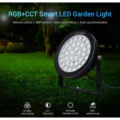 25 Watt 230 Volt RGB + Warm Wit + Koud Wit Tuinlamp