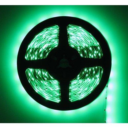 LEDStrip Groen 5 Meter 60 LED per meter 24 Volt