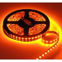 LEDStrip Oranje 2,5 Meter 120 LED per meter 12 Volt