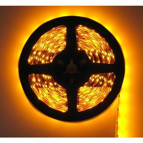 LEDStrip Geel 5 Meter 60 LED per meter 24 Volt