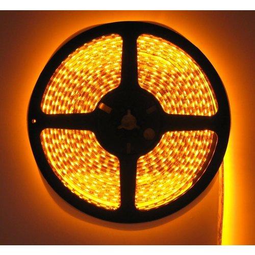 LEDStrip Geel 5 Meter 120 LED per meter 12 Volt