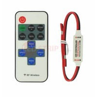 LED Mini RF Controller Set voor Enkelkleurige LED Strips