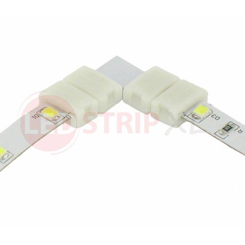 ledstrip connector koppelstuk voor hoeken 2-aderig, verbinden zonder te solderen