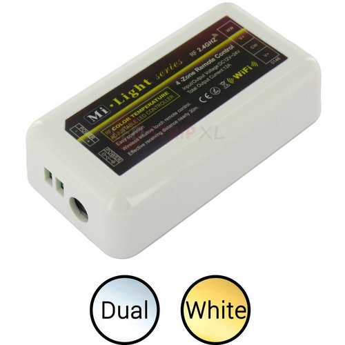 Milight / MiBoxer LEDStrip Dual White Losse Zone Controller voor 4-zone systeem
