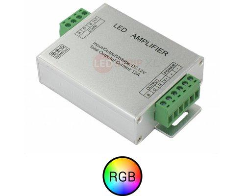 RGB Multikleur ledstrip versterker 12A 144W