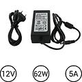 LEDStrip Voedingsadapter12 Volt 5 Ampere Transformator