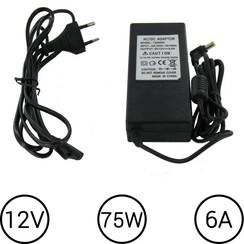 LED Voeding 12V 6 Ampère 75W
