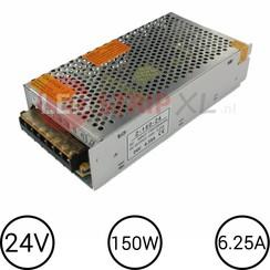 24V LED Voeding 6.25 Ampère 150W