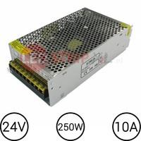 24 Volt LEDStrip Voedingsadapter 10 Ampere Transformator