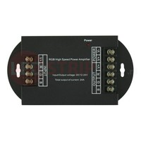 RGB Multikleur ledstrip versterker 24A 288W