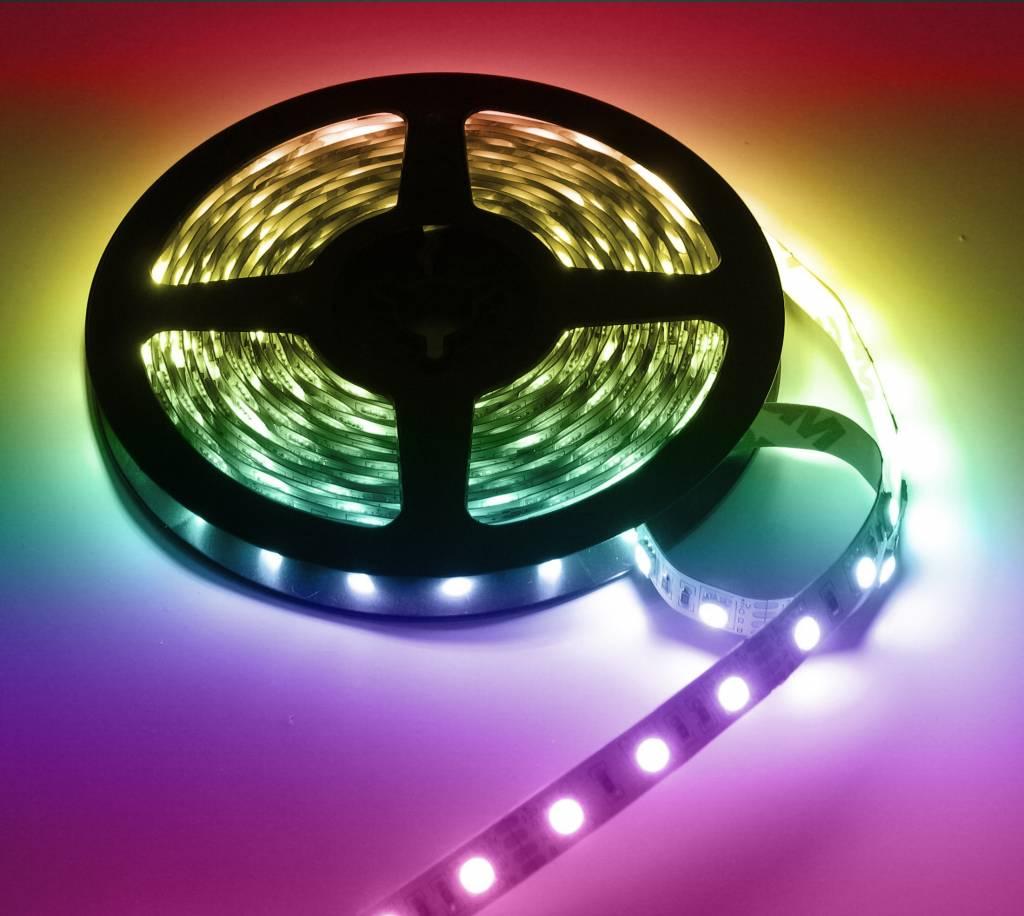Bekend LED Strip RGB 10 Meter 60 LED per meter 24 Volt   LEDStripXL GD66