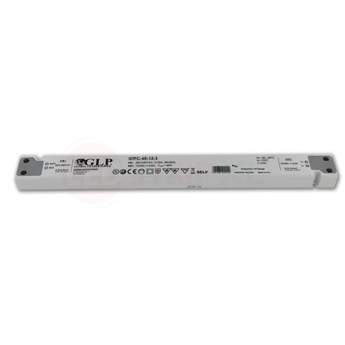 GLP Extra smalle LED driver/transformator 12V 60W 5A