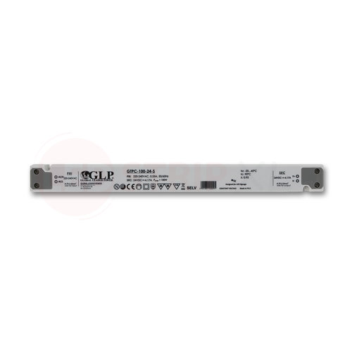 GLP Extra smalle LED driver/transformator 24V 100W 4.17A