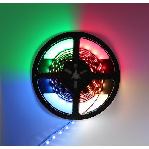 LED Strip RGB + Warm Wit + Koud Wit 2.5 meter 60led/m 5in1 led 24V Dual White CCT