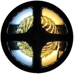 LED Strip Dual White 7,5 Meter 120 LED 24 Volt