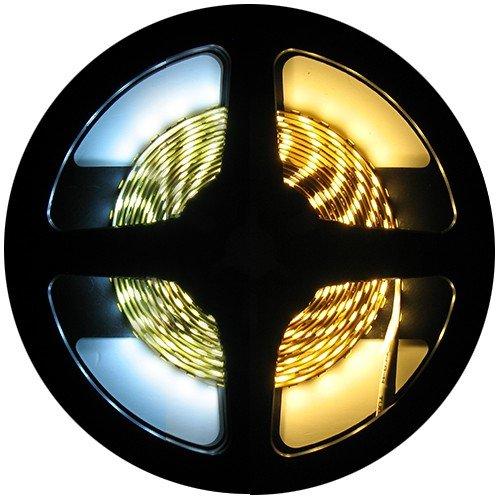 LEDStrip Dual White 7,5 Meter 120 LED per meter 24 Volt