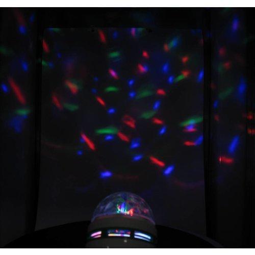 LED RGB Multikleur Draailamp E27 3 Watt Groot