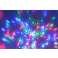 LED RGB Multikleur Draailamp E27 3 Watt Klein