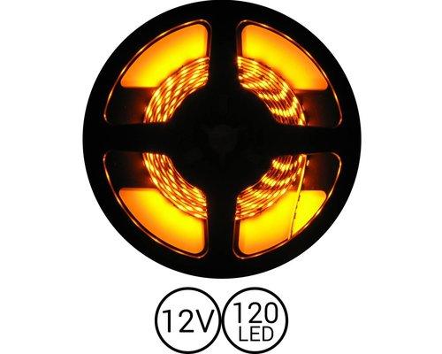 PowerLED Geel 0,5 t/m 2,5 Meter 120LED per meter 12 Volt