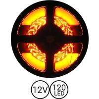 PowerLED Oranje 0,5 t/m 2,5 Meter 120LED per meter 12 Volt