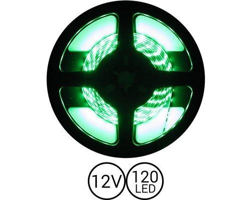 PowerLED Groen 0,5 t/m 2,5 Meter 120LED per meter 12 Volt