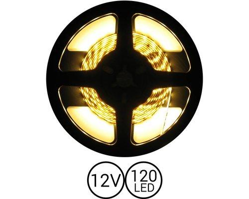 PowerLED Warm Wit 0,5 t/m 2,5 Meter 120 LED per meter 12 Volt
