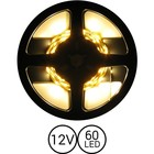 PowerLED Warm Wit 0,5 t/m 2,5 Meter 60 LED 12 Volt
