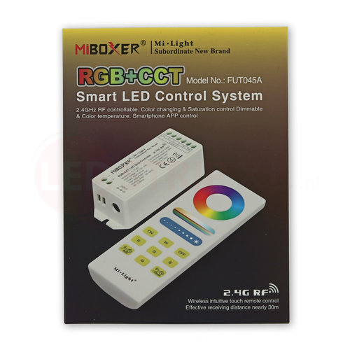 Milight / MiBoxer Mi-Light RGB+CCT Smart LED controller set FUT045A