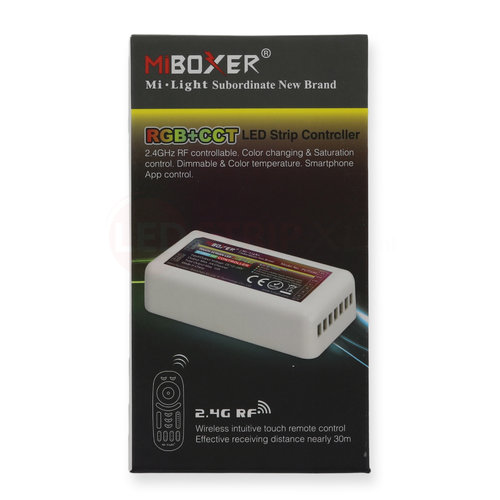 Milight / MiBoxer RGB+CCT LEDStrip Losse Zone Controller voor 4-zone systeem