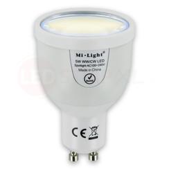 Dual White CCT LED Spot 5 Watt GU10