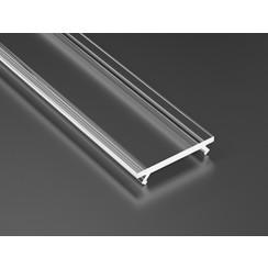 Transparante Cover 100cm voor Lumines Profielen