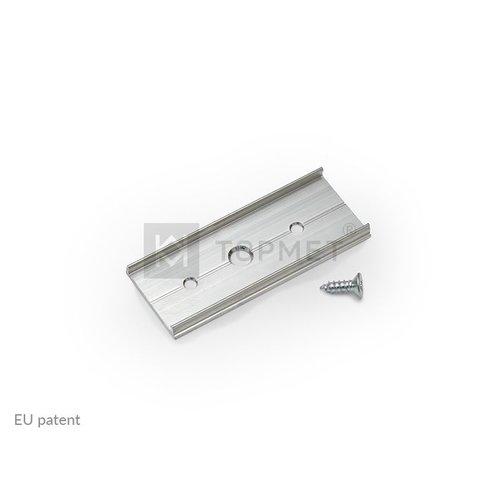 TOPMET Connector voor 14mm profielen doorverbinden
