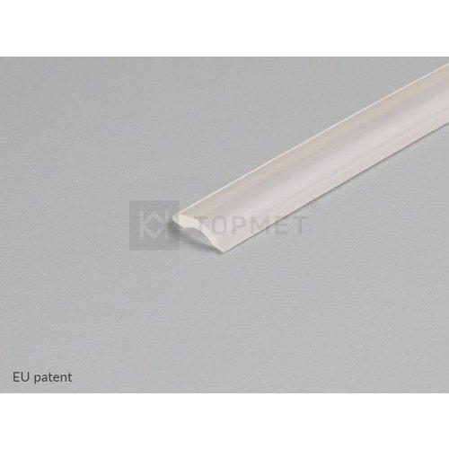 TOPMET STEP10 Anti Slip rubber 1 meter Transparant