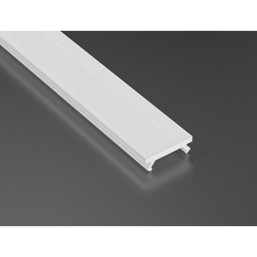 Lumines Milky cover voor X profiel lumines 2m