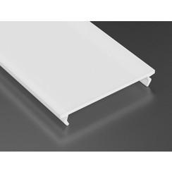 Milky cover PMMA voor architectonische profielen 100cm